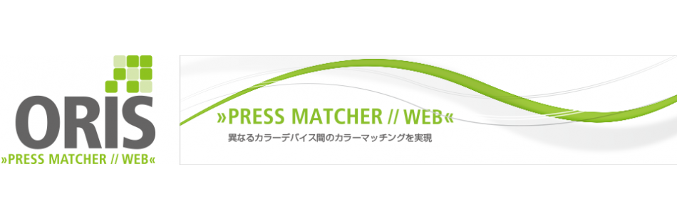 ORIS PRESS MATCHER // WEB